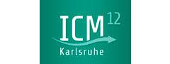 Logo ICM 12 in Karlsruhe